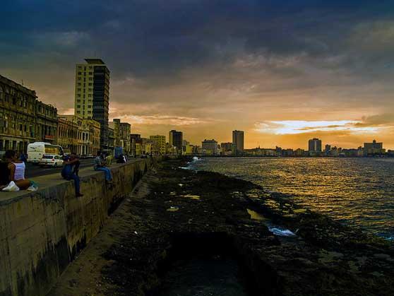 Cuba Architecture Malecon